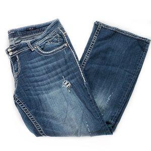Vigoss • The Dublin Distressed Bootcut Jeans
